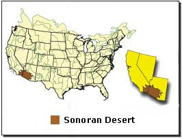 Second Desert Peaks List - Map of deserts in the us
