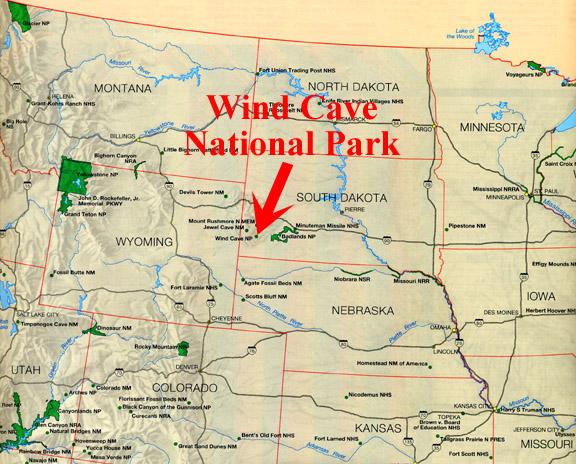 Rankin Ridge In Wind Cave National Park