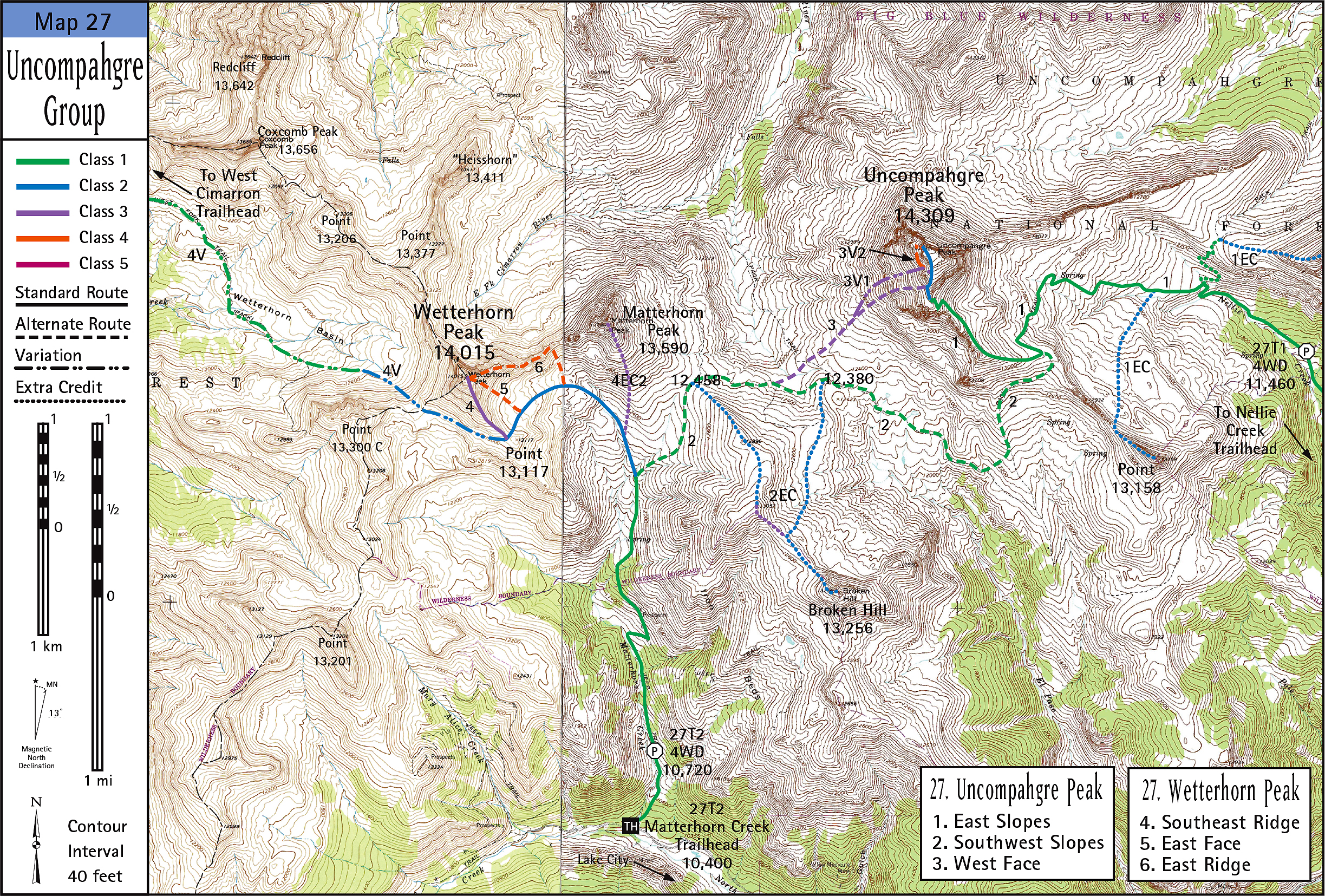 Uncompahgre Group Map